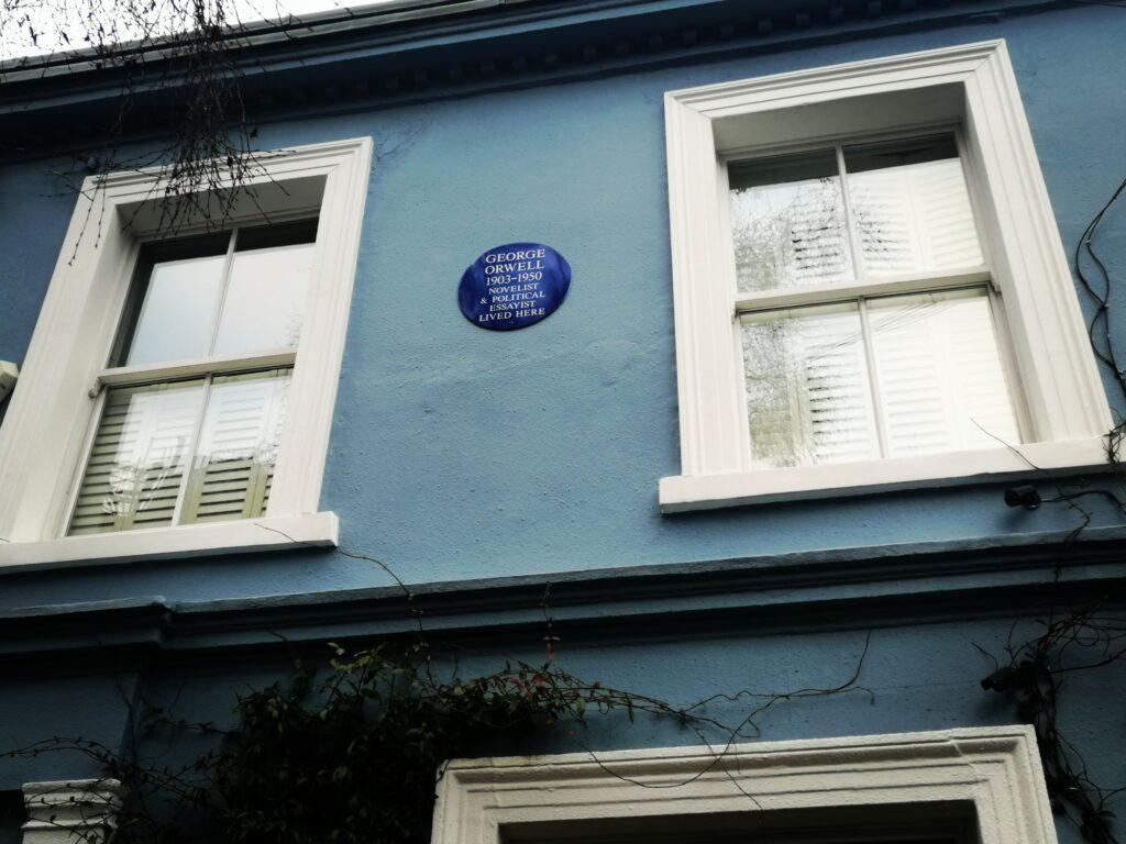 George Orwell a Londra