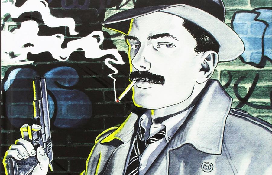 Graphic novel italiane: personaggi d'autore come Sam Pezzo oggi vengono pubblicati in volumi di pregio