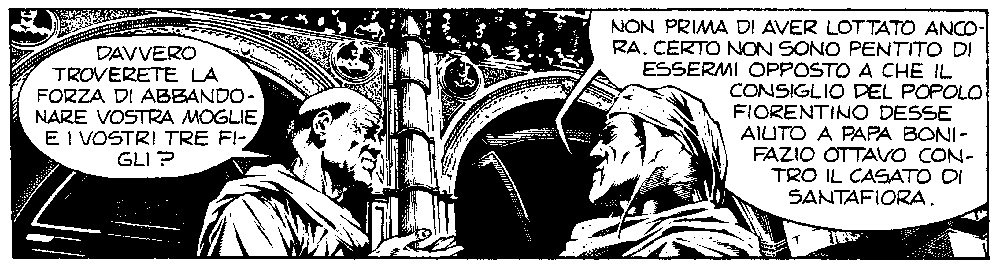 Dante a fumetti: il Sommo Poeta ricorre in tante opere disegnate