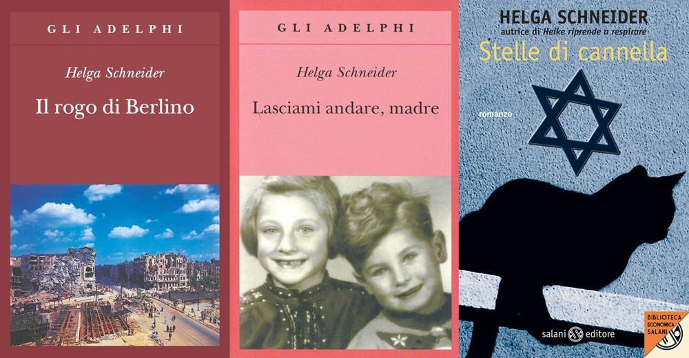 Helga Schneider, i suoi tre libri più rappresentativi