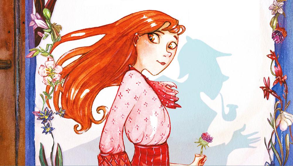 Enola Holmes fumetto: sullo sfondo, l'ombra del celebre fratello maggiore